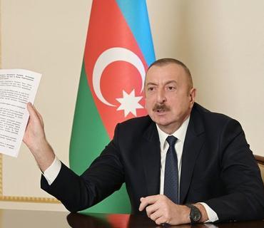 Azərbaycan Prezidenti Ermənistan ordusunun məhv edilən texnikalarının sayını açıqlayıb