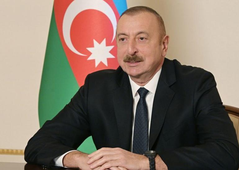 """Prezident: """"Hərdənbir Ermənistan tərəfindən atəşkəsin pozulması halları olur, biz isə layiqli cavab veririk"""""""