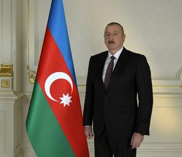 """Azərbaycan Prezidenti: """"Kim statusla bağlı məsələni qaldırırsa, sülhə yox, qarşıdurmaya daha çox xidmət göstərir"""""""