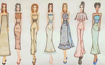 Vətənin abidələrini modaya daşıyan 16 yaşlı modelyer