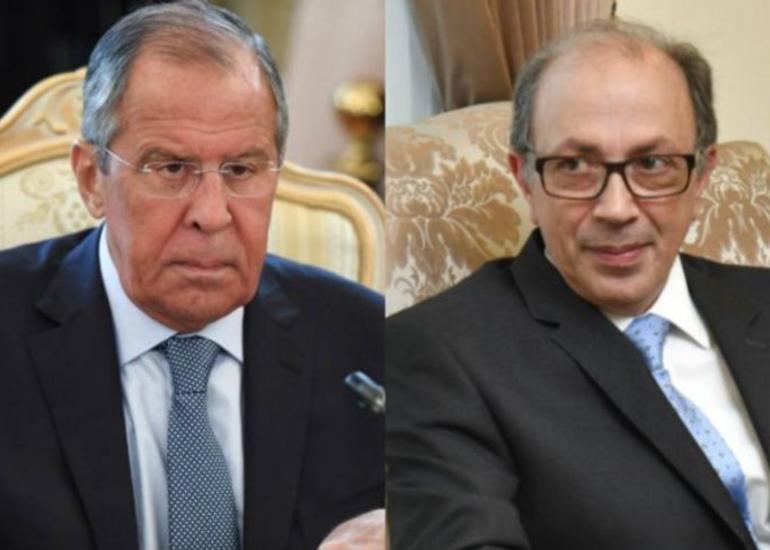 Lavrov və Ara Ayvazyan 11 yanvar bəyanatının icrasını müzakirə ediblər