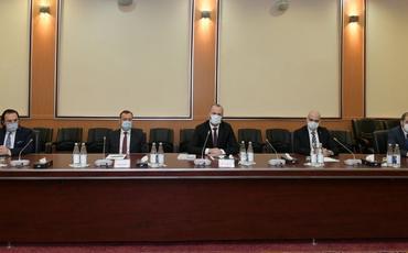 """Nazir: """"Türkiyə və Azərbaycan poçtu yeni layihələrə imza atacaq"""" - FOTO"""