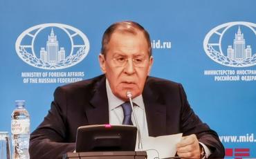 """Lavrov: """"Ermənistan əsirlərin siyahısını tam verməyib"""""""