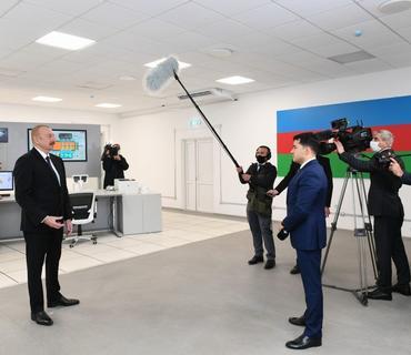 Prezident İlham Əliyev: Fəaliyyətimdə Qarabağ bölgəsinin bərpası xüsusi yer tutur