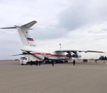 İşğaldan azad olunan əraziləri minalardan təmizləmək üçün Rusiyadan yeni avadanlıqlar gətirildi
