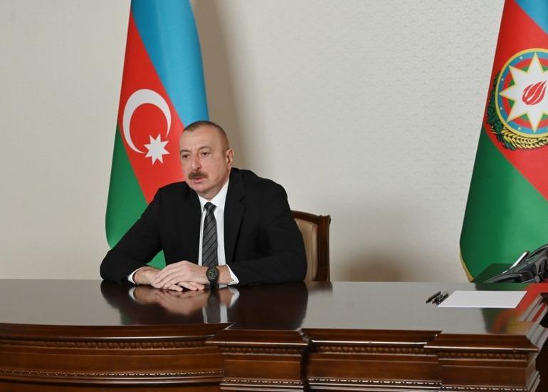 Azərbaycan Prezidenti: Zənnimcə, lap yaxın vaxtlarda biz hamımız dirçəldilmiş şəhərləri görəcəyik