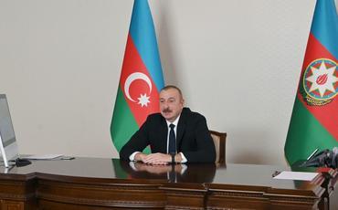 Prezident İlham Əliyev: Anlaşma Memorandumunun imzalanması çoxillik gərgin fəaliyyətinin nəticəsidir