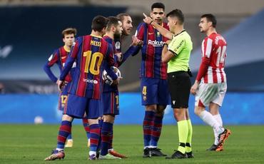 """İspaniya kubokunda """"Barselona""""nın rəqibi müəyyənləşib"""