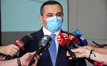 """Ramin Bayramlı: """"Yaxın 2 həftədə bütün tibb işçiləri koronavirusa qarşı vaksinasiyadan keçəcək"""""""