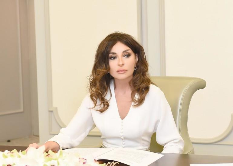 Birinci vitse-prezident Mehriban Əliyeva yenidən Azərbaycan Gimnastika Federasiyasının prezidenti seçilib