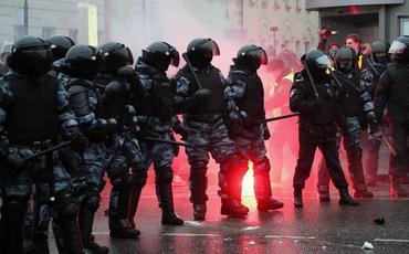 Moskvada icazəsiz aksiyalara görə 30 nəfər barəsində həbs qərarı verilib