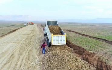 """""""Keşikçidağ""""a gedən yeni avtomobil yolunun inşasına başlanılıb"""