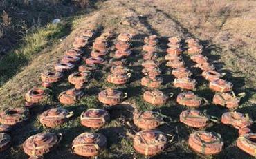 DSX: Dövlət sərhədlərinin minalardan təmizlənməsi davam edir