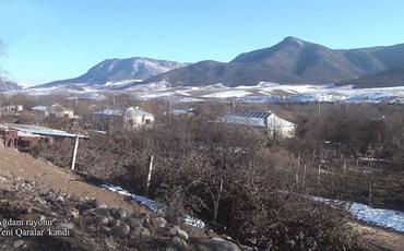 Ağdamın Yeni Qaralar kəndi