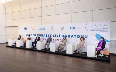 """Azərbaycanda ilk """"Gender bərabərliyi"""" hakatonu keçirilib - FOTO"""