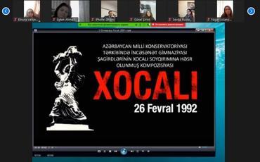 """""""İçərişəhər""""də """"Qarabağdır Azərbaycan!"""" adlı onlayn konfrans keçirilib"""