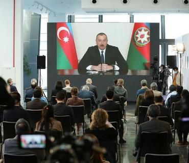 Azərbaycan Prezidenti mətbuat konfransı keçirib