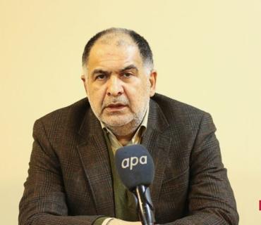 """İranlı nazir müavini: """"Jurnalistin sualı İranın mövqeyini əks etdirmir"""""""