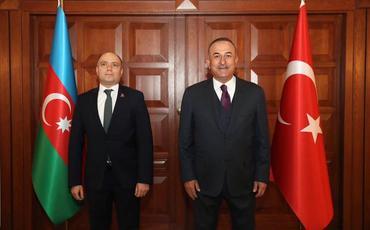 Mövlud Çavuşoğlu Anar Kərimovla görüşüb
