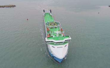 Prezident İlham Əliyevin istismara verdiyi Ro-Pax tipli gəmi-bərədən REPORTAJ