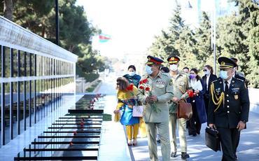 Azərbaycanla Pakistan arasında hərbi əməkdaşlığın istiqamətləri müzakirə olunub