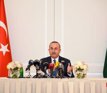 """Çavuşoğlu: """"""""3+3"""" platformasının məqsədi regionda sülhü dayanıqlı etməkdir"""""""