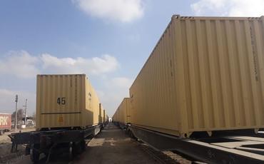 BTQ ilə Mərkəzi Asiyadan Türkiyəyə konteynerlə yükdaşımalar artıb