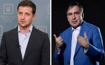 Zelenski Saakaşvilini Koordinasiya Şurasından kənarlaşdırıb