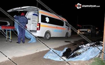 Ermənistanda yol qəzasında iki hərbçi ölüb, dörd hərbçi yaralanıb