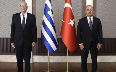 Yunanıstan XİN rəhbəri Ankarada mətbuat konfransında münaqişə yaradıb