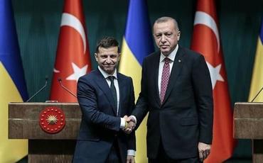 """Ukrayna Prezidenti: """"Türkiyə ilə ortaq maraqlarımız var"""""""