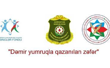 """""""Dəmir yumruqla qazanılan zəfər"""" adlı layihə çərçivəsində sosial çarxlar təqdim olunub"""