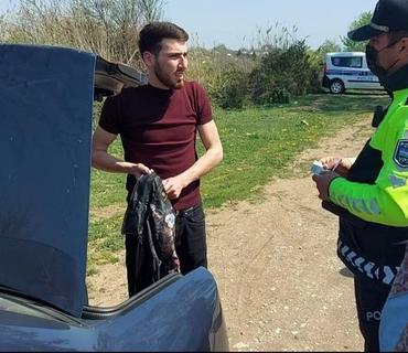 Xocalı polisi karantin rejimi ilə bağlı reyd keçirib