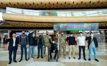 """Ağır yaralanan daha 12 qazi """"YAŞAT"""" Fondu tərəfindən Türkiyəyə göndərilib"""