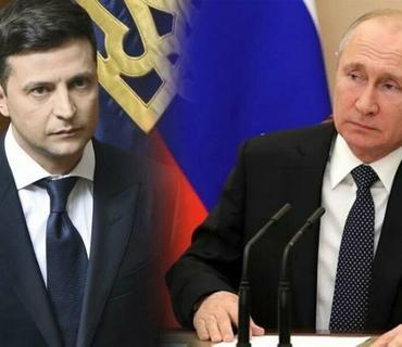 Zelenski Putini Donbasda görüşə dəvət edib