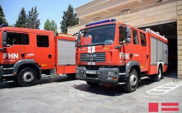 FHN: Ötən sutka 46 yanğına çıxış olub, 3 nəfər xilas edilib