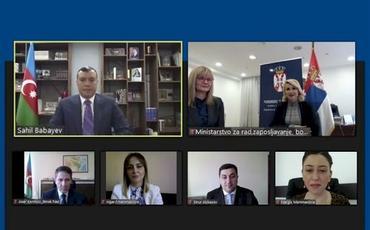 Azərbaycanla Serbiya arasında sosial təminat sahəsində əməkdaşlığa dair Saziş layihəsi hazırlanıb