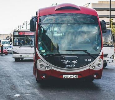 27 sentyabr Anım günü ilə əlaqədar bir sıra marşrut avtobusların hərəkət sxemi dəyişdiriləcək