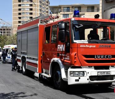 FHN: Ötən gün ərzində 66 yanğına çıxış olub, 10 nəfər xilas edilib
