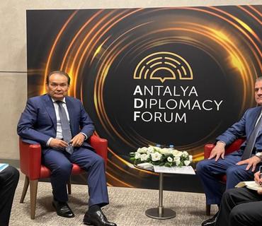 Ceyhun Bayramov Türk Şurasının Baş katibi ilə görüşüb