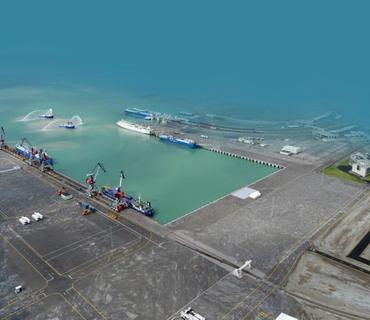 Bakı Limanında intermodal terminal tikiləcək