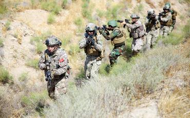 Azərbaycan, Türkiyə və Pakistan xüsusi təyinatlılarının təlimi davam edir