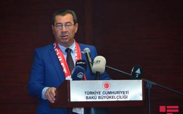 Bakının azad edilməsinin ildönümü münasibətilə Türkiyə səfirliyində tədbir keçirilib