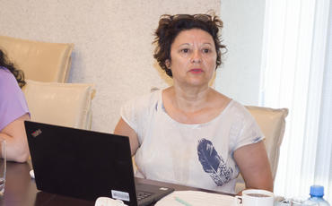 Mətbuat Şurasında birgə tvininq layihə üzrə beynəlxalq eksperlərlə görüş keçirilib