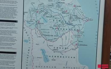 İƏT OA-nın nümayəndə heyəti Marağa-150 abidəsinə baxıb