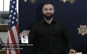 ABŞ polisi bu azərbaycanlını mükafatlandırdı