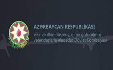 Dövlət komissiyası iki mülki erməninin geri qaytarılması ilə bağlı məlumat yayıb