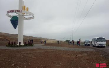 Gürcü jurnalist və blogerlərin işğaldan azad olunmuş ərazilərə səfəri başlayıb