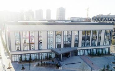Prezident İlham Əliyev və Mehriban Əliyeva Bakı Avropa Liseyinin yeni binasının açılışında iştirak edib