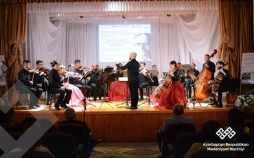 XIII Beynəlxalq Musiqi Festivalı çərçivəsində simfonik musiqisi axşamı keçirilib